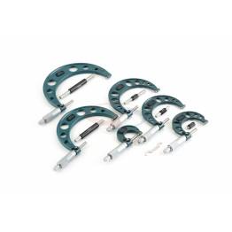 6 Parça Mekanik Mikrometre Seti